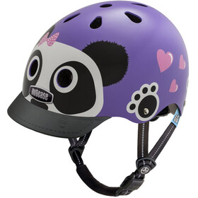 Nutcase Little Nutty Street Helmet Kids Purple Panda